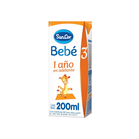 Sancor Bebe 3 Liquida x 200 ml