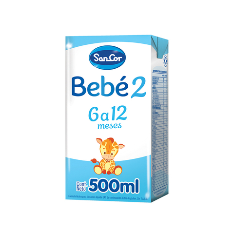 Sancor Bebe 2 Liquida x 500 ml