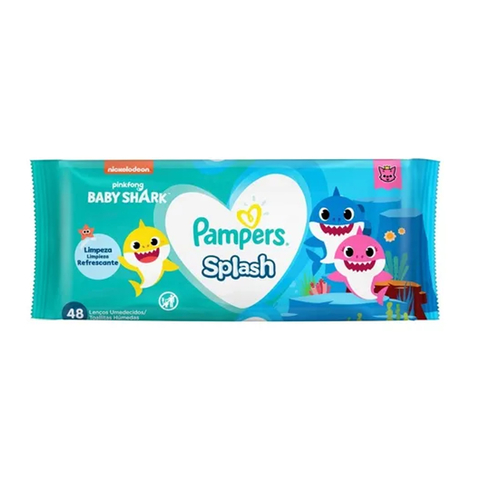 Toallitas Pampers Splash x48 Unid