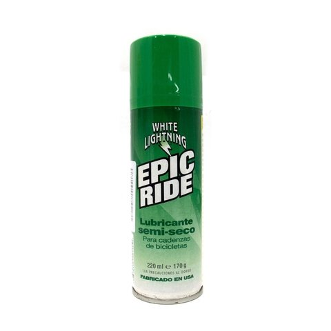 LUBRICANTE WHITE LIGHTNING EPIC RIDE AEROSOL 220ML