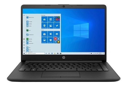 Notebook Hp 14-dk1031dx Negra 14 , Amd Ryzen 3 3250u 8gb De Ram 1tb Hdd, Amd Radeon Graphics 1366x768px Windows 10 Home