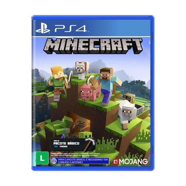MINECRAFT STARTER EDITION- GAME PS4
