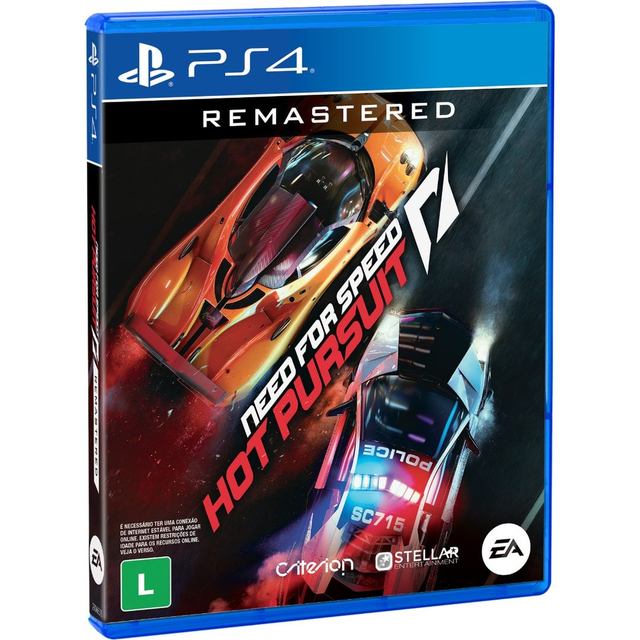 Need For Speed Hot Pursuit - Remastered - JOGO PS4