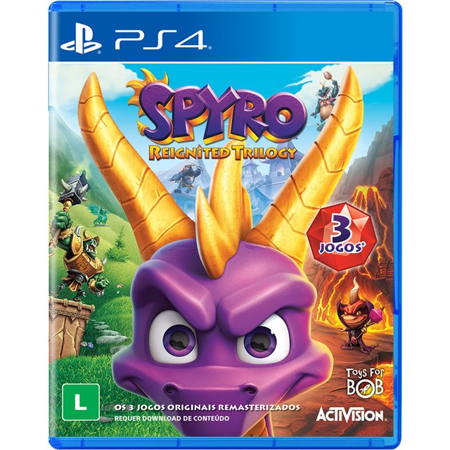 SPYRO REIGNITED TRILLOGY PS4