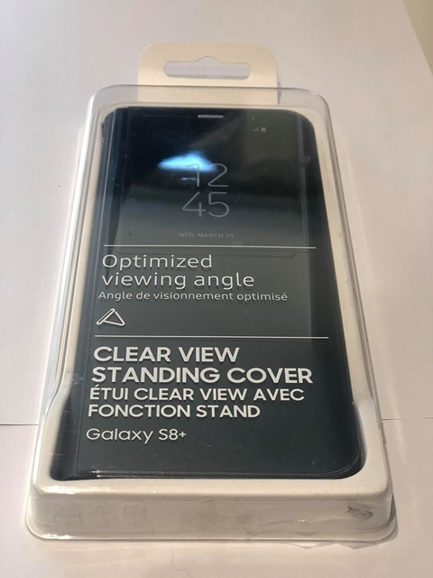 FUNDA CLEAR VIEW STANDING COVER SAMSUNG S8 + PLUS - comprar online
