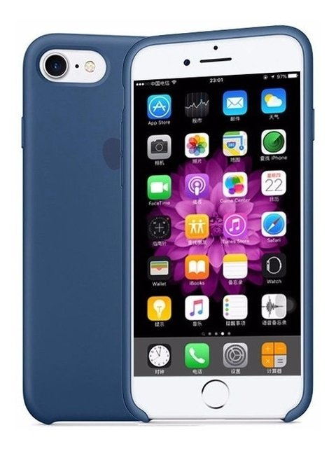 Funda Silicone Case iPhone 7 8 Plus 100% Orig Oficial Apple