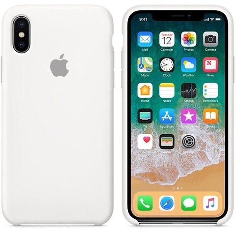 Funda Silicone Case Apple iPhone X 10 Ten Local Olivos