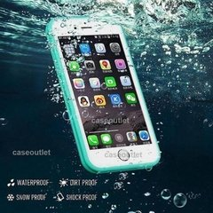 Imagen de Funda Agua Waterproof Apple iPhone 5 5s 7 8 Plus Goma