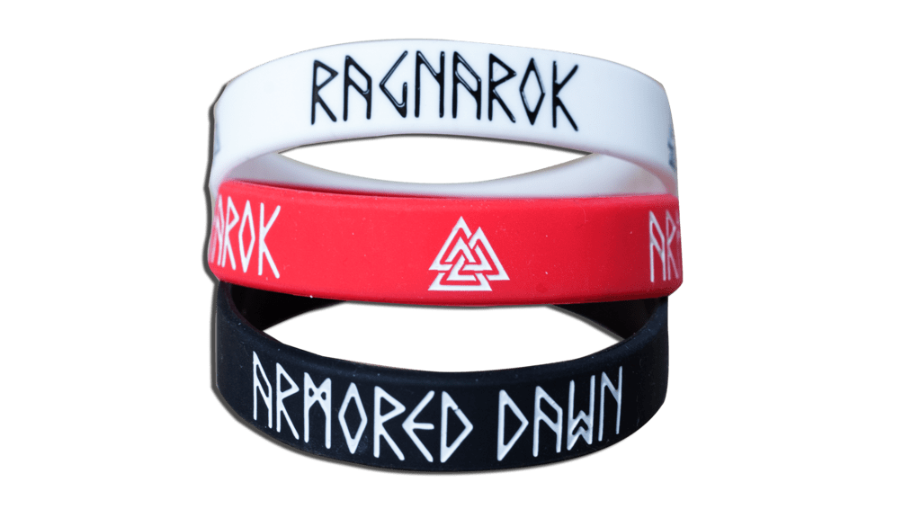 Silicone Bracelet Armored Dawn