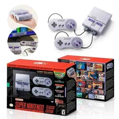 Mini Console Super Nintendo Classic Edition + 2 Controles + 21 Jogos (Digitais) Original na internet