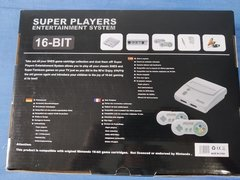 Vídeo Game Console Super Nintendo Retrô Super Players Completo + Cartucho com 102 Jogos - comprar online