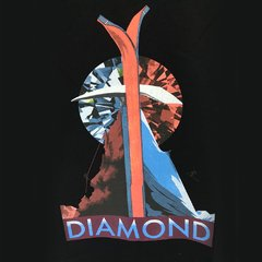 Camiseta Diamond Peak Tee Preta na internet
