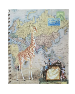 CUADERNO A4 SAFARI