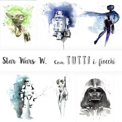 Star Wars Watercolor