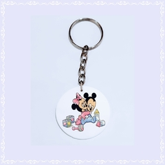 Chaveiro Mickey e Minnie Baby