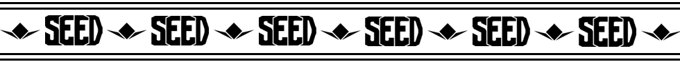 Banner SEED