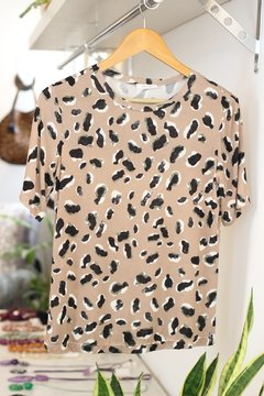 Blusa animal print Nice Club Amore na internet