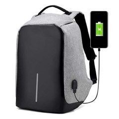 Mochila Antirrobo Notebook Tablet Con Puerto De Carga Usb en internet