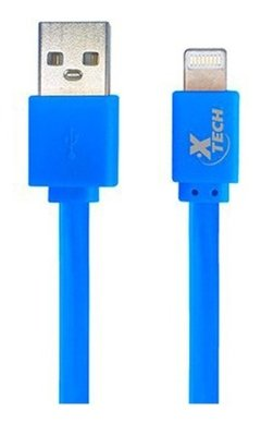 Cable Usb iPhone Lightning Plano Xtech 1m iPad Colores en internet