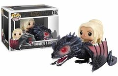 Daenerys Y Drogon Funko Pop Figura Game Of Thrones En Caja