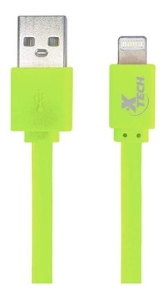 Cable Usb iPhone Lightning Plano Xtech 1m iPad Colores