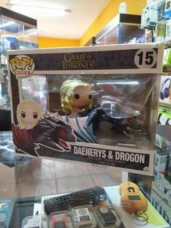 Daenerys Y Drogon Funko Pop Figura Game Of Thrones En Caja en internet