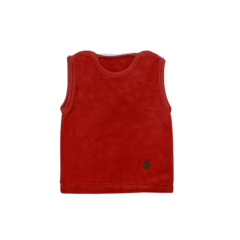 UP-I178 CHALECO TEDDY ROJO