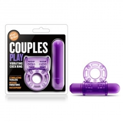 PLAY WITH ME - COUPLES PLAY - VIBRATING COCK RING - PURPLE