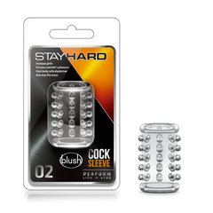 STAY HARD – COCK SLEEVE 02 – CLEAR