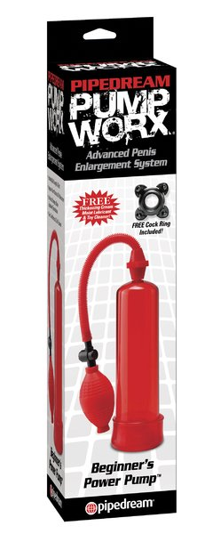 PUMP WORX BEGINNER'S POWER PUMP RED