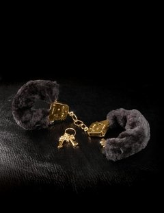 FETISH FANTASY GOLD DELUXE FURRY CUFFS GOLD en internet