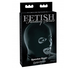Mascara Fetish Fantasy Series Spandex Open Mouth Hood