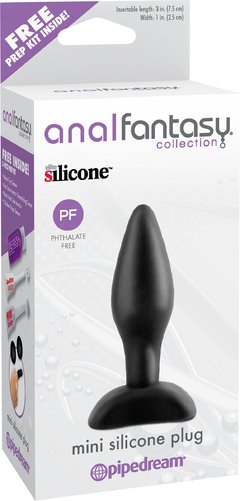 ANAL FANTASY COLLECTION MINI SILICONE PLUG