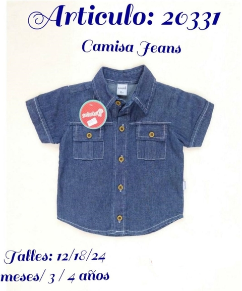 "CAMISA JEAN  ""SOLCITO"" ( 20331 )"