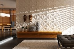 PANEL DECORATIVO 3D PVC REVESTIMIENTO PARED DIAMANTE 50X50 en internet