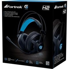 Imagem do Headset Gamer Pro H2 Preto FORTREK