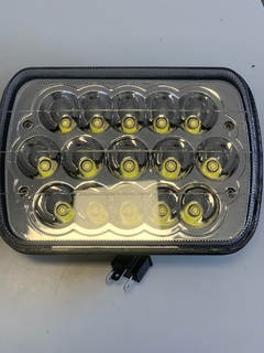 Faro Led Universal Rectangular 45 Watts (15 Leds) Cod: DJ5930BLA EPISTAR