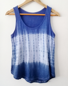 Musculosa Ame in blue