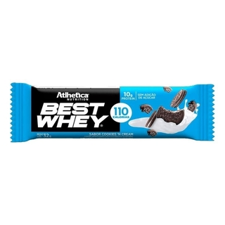 Best Whey Bar 32g Cookies & Cream - Atlhetica Nutrition