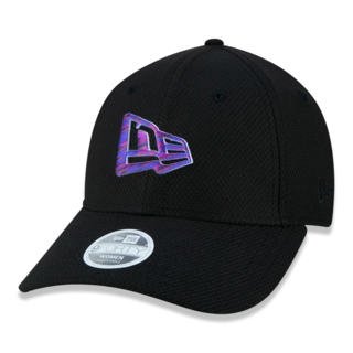 Boné 940 SN Girls Flag Preto Feminino - New Era