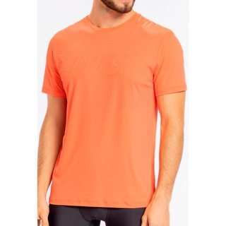 Camiseta Lines Fresh Coral Masculina - Live!