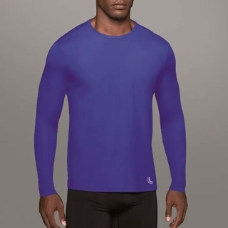 Camiseta Repelente ML UV Royal Masculina - Lupo
