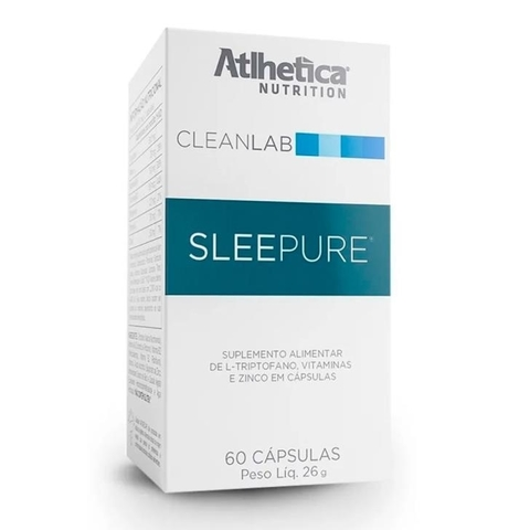 Sleepure 60caps - Atlhetica Nutrition