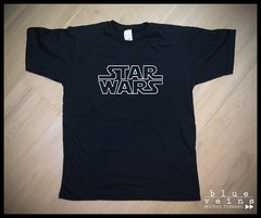 Remera Star Wars logo