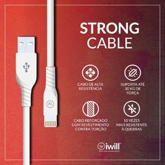 Cabo iPhone Original Iwill Homologado Apple Resistente(Main)