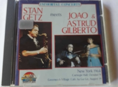 STAN GETZ E JOAO/ASTRUD GILBERTO - GIANTS OF JAZZ