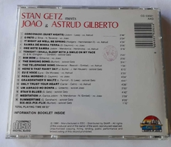 STAN GETZ E JOAO/ASTRUD GILBERTO - GIANTS OF JAZZ na internet