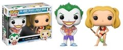 The Joker (Beach) & Harley Quinn - Funko Pop - DC Universe - 2 pack - Hot Topic Exclusive