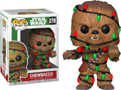 Chewbacca - Pop! Star Wars - Natal - Funko - 278