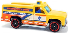 HW Rapid Responder - Carrinho - Hot Wheels - RESCUE - 6/10 - 123/250 - 2017 - G016D